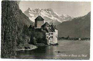 CP SUISSE chateau de CHILLON et la dent du midi  (33)bi
