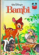 Walt DISNEY's BAMBI Felix Salter New 1996 Grolier hb Classic Childrens animation