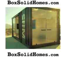 BoxSolidHomes.com & BoxSolidCabins.com Premium Dot Com Shipping Container Homes