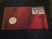 2002 Queen Elizabeth II Golden Jubilee Accession FDC/PNC Rare & Scarce