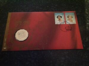 2002 Queen Elizabeth II Golden Jubilee Accession FDC/PNC Rare & Scarce