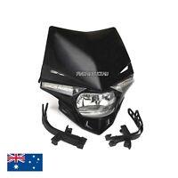 Universal Motorcycle Pit Dirt Bike ATV Rear Brake Stop Light Switch W// Spring AU