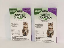 Nature's Guardian Squeeze-On Flea & Tick Control for Cats 0.07 Oz Value Of 2