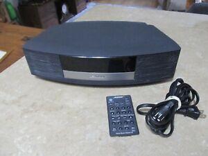 Bose Wave Music System III Black Remote Control Touch Sensor Radio Alarm /am/fm