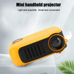 Portable Mini HD 240P Wifi Bluetooth LCD Movie Projector Home Theatre w/Tripod