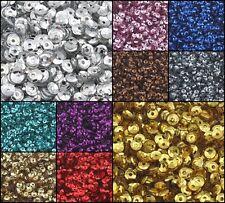 12000 Pailletten Gewölbt im Blister für Kleidung Schmuck 4mm (100g / 10 farben)