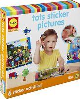Kids Arts and Crafts Fun School Alex Toys Jr. Tots Sticker Pictures Art Supplies