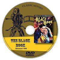 The Black Book 1949 DVD Film Robert Cummings, History Romance Thriller Film Noir