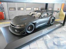 BMW Z4 GT4 24h Nürburgring 2012 matt black schwarz Test Diecast Minichamps 1:18