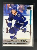 2018-19 Mathieu Joseph UD Young Guns Rookie