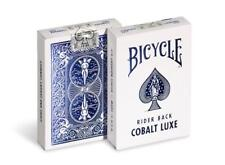 Bicycle Rider Back Cobalt Luxe (Blue) by US Playing Card Co. ONE (1) DECK