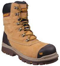 Caterpillar Premier 8 Inch S3 Waterproof Mens Safety Hi Work Boot Honey 10uk / 44eu