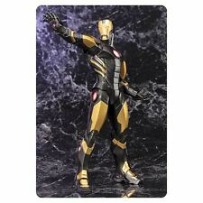 "Kotobukiya ~ Avengers Now ~ IRONMAN (Black)  ~ ArtFX+ Statue ~ 8"" Model Kit"