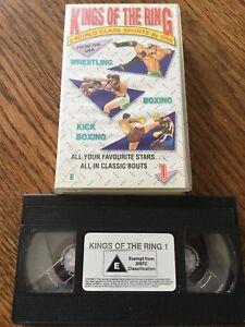 Kings Of the Ring VHS Cassette Tape