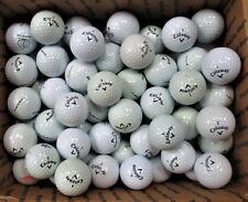 100 Aa / A White Callaway Supersoft and Speed Regime Golf Balls