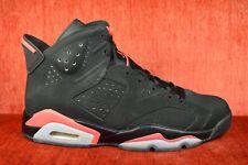 1a2e0a72794 CLEAN Nike Air Jordan VI 6 Retro Black Infrared 384664-023 Size 9.5