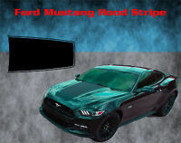 2015 2016 2017 Ford Mustang Wide Rally Racing Stripe Vinyl Decal Graphics Hood