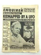 Vintage National Enquirer October 24 1978 Kidnapped By UFO Newspaper L678