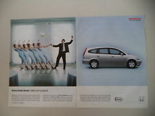 advertising Pubblicità 2001 HONDA STREAM