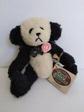 Ganz Cottage Collectibles panda Bear Li'l Pandee plush stuffed animal pink rose