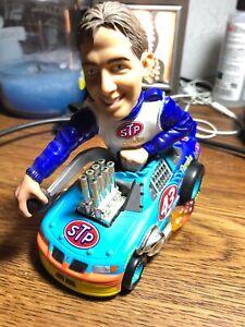 JOHN ANDRETTI 1/43 Hot Wheels RADICAL RIDES car with big head #43 STP Cheerios