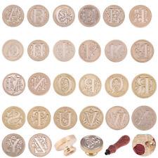 26 Alphabet Lettre DIY Cire de l'alphabet Vintage pour sceaux Cachet Cuivre Tête