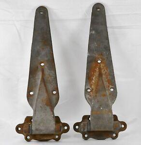 KASON HDWE Corp - PAIR of Antique Heavy Duty Cast Iron Freezer Hinges #1214 ✅