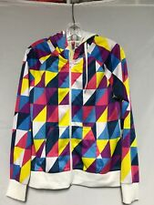 Divided Women's Size 12 Zipper Hoodie With Pockets Multi Color NWOT