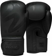 RDX Leather Boxing Gloves MMA Punching Fight Sparring Kickboxing Training 12oz