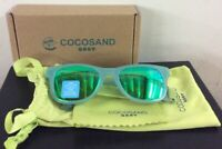 COCOSAND Baby Sunglasses with Strap Green New Open Box
