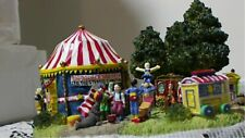 1999 Liberty Falls The Side Show Ah176 Circus Tent American Village Open Box