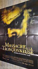 MASSACRE A LA TRONCONNEUSE 4 leatherface IV  !  affiche cinema horreur gore