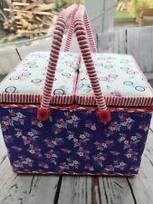 Sewing Hobby craft Crochet Kniitting Box 27x 27x 18cm