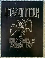 An Evening with LED ZEPPELIN Tour Book - North America - 1977 Concert Program