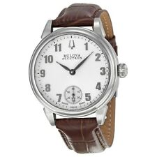 Accutron by Bulova 63A115 Gemini Mechanical Hand-Winding Brown Mens Watch $1,095