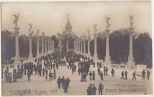 TORINO - ESPOSIZIONE 1928 - LA FOLLA SUL PONTE MONUMENTALE