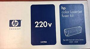 HP COLOR LASERJET FUSER C4198A