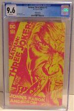 DC Batman: Three Jokers #2 1:25 Variant Cover B CGC 9.6 11/20 Johns & Fabok