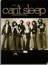 Rockets: Can't Sleep (Badanjek) - 1979 Piano/Guitar Sheet Music!