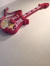 Rare Disney Princess Pink Toy Electric Guitar