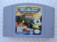 Micro Machines 64 Turbo Nintendo 64 OEM Authentic Video Game Cart N64 Kid GREAT