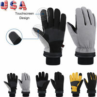 -30°F Winter Ski Gloves Warm Windproof Waterproof Anti-slip Thermal Touchscreen