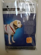 Ancol Nylon Dog Harness xl. X-large black. stop pulling