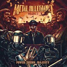 Metal Allegiance Volume II - Power Drunk Majesty CD 2018 Nuclear Blast USA
