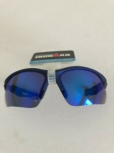 Foster Grant Ironman Ambition Sunglass, Navy/Grey MIR  SHATTER RESISTANT LENCES