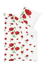 Treu Bettwäsche Baumwolle 135x200 Weiß Und Grün Blumenmuster 4tlg *neu Und Ovp* Elegant Im Geruch Möbel & Wohnen Bettwaren, -wäsche & Matratzen