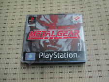 Metal Gear Solid Tactical Espionage Action für Playstation 1 PS1 PS 1 PSone *OVP