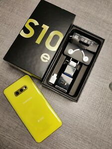 Samsung galaxy s10e dual SIM g970f 128 GB canary yellow  in garanzia