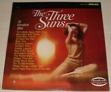 THE THREE SUNS 16 GREATEST HITS ALBUM SEALED 1966 MUSICOR RECORDS MS-3090