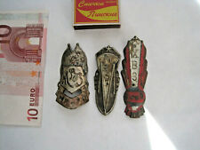 3pcs Bike USSR soviet russian bicycles head badges logo emblems #3